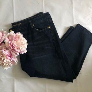 MICHAEL KORS Izzy Skinny Jeans size 22W
